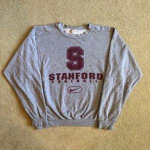 Vintage 90's Nike Stanford Football Sweatshirt L